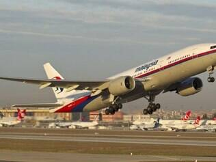 Avião desaparecido da companhia Malaysia Airlines é um Boeing 777, como o que aparece na imagem