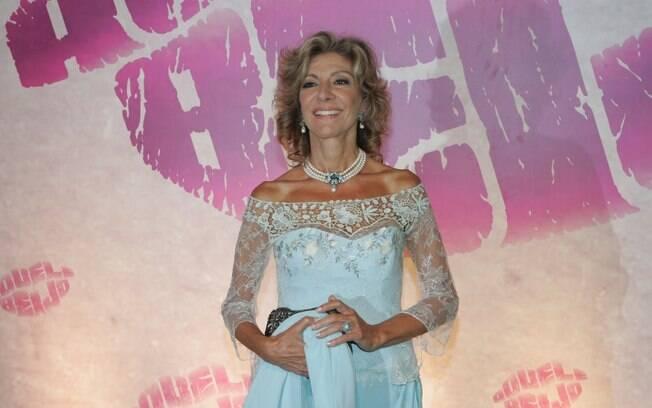 Marília Pêra na noite de estreia