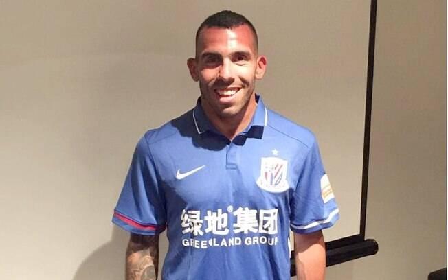 Carlitos Tevez deixou o Boca em direção à China e terá o maior salário do planeta