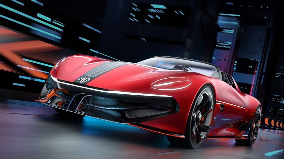 O Cyberster EV é um conceito futurístico da clássica marca de carros esportivos