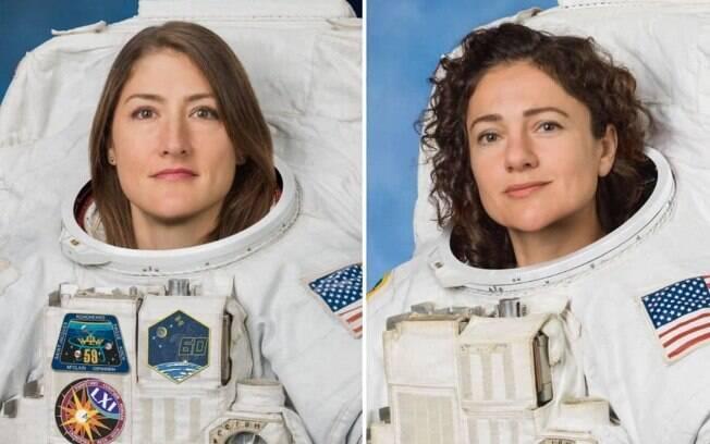 Christina Koch e Jessica Meir, astronautas da Nasa