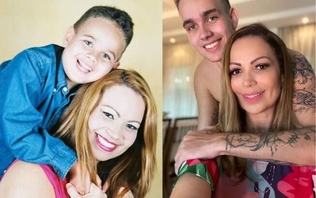 Filho de Solange Almeida completa 21 anos