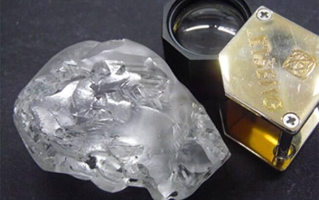 Diamante foi encontrado em mina na África