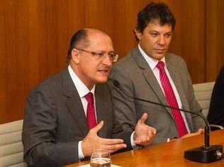 Alckmin e Haddad receberão convite da presidência da Câmara para audiência