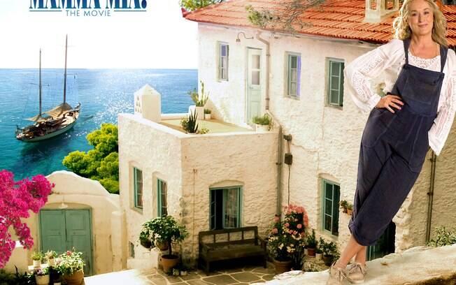 Mamma Mia! presenta ao público a linda ilha de Skopelos, na Grécia