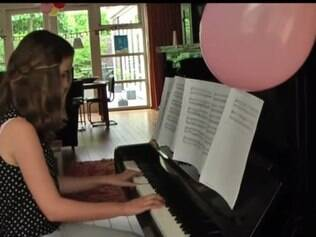 Anna van Keulen, de 13 anos, sonhava em torna-se famosa