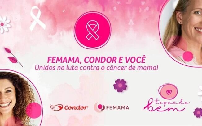 Condor lança campanha Toque do Bem no Outubro Rosa