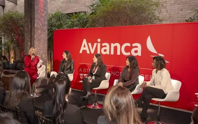 A formatura contou com um painel com a participação de Glória Maria, Mônica Sousa e outras mulheres poderosas