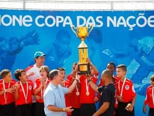 Guilherme Gontijo foi campeão em março da seletiva regional da Danone Copa das Nações e depois faturou a edição nacional