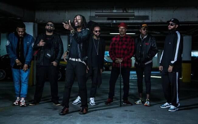 Os novos destaques do rap brasileiro se juntaram com nomes tradicionais para o lançamento de O céu é o limite