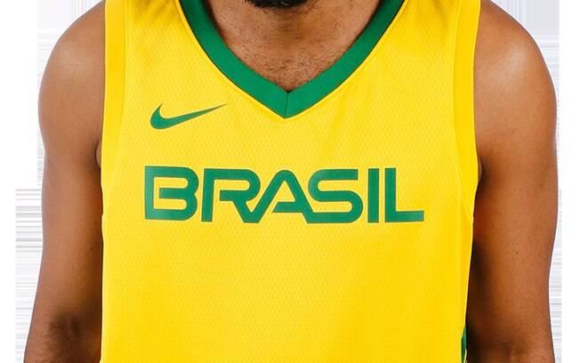Nova camisa amarela da seleção brasileira de basquete / 2019