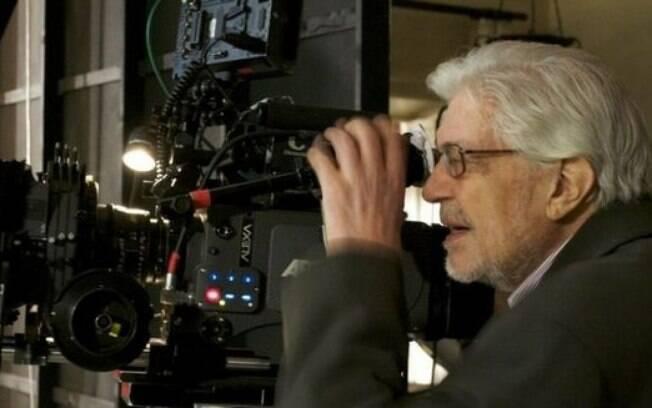 O cineasta no set de