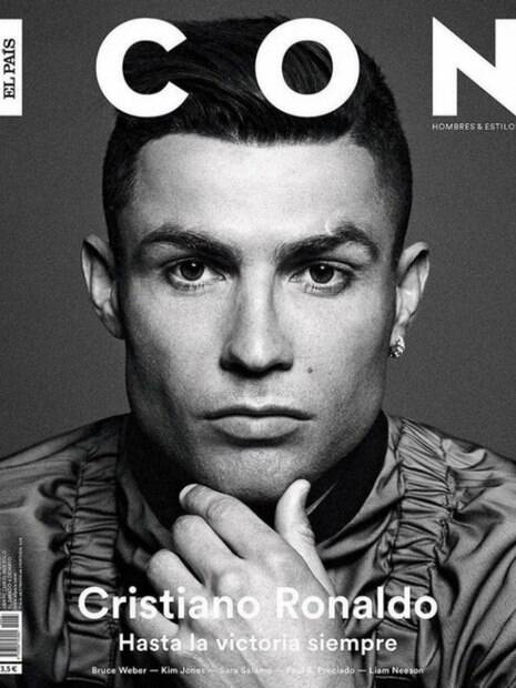 Cristiano Ronaldo é capa da revista Icon