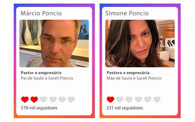 Márcio Poncio e Simone Poncio