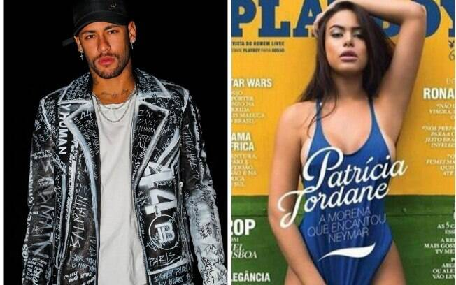 Neymar e Patrícia Jordane