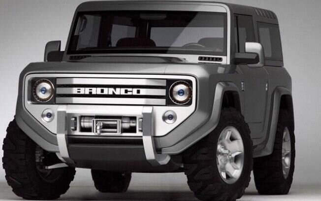 Reedição do famoso modelo da década 70, o Ford Bronco virá na versão híbrida plug-in para brigar com Jeep Wrangler