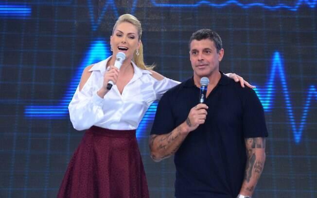 Ana Hickmann e Alexandre Frota