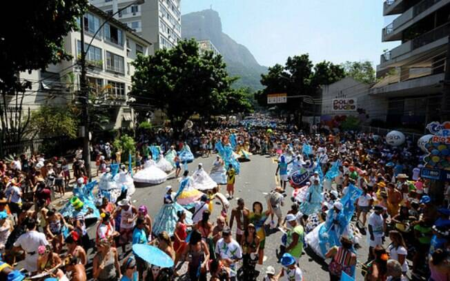 Desfile do bloco