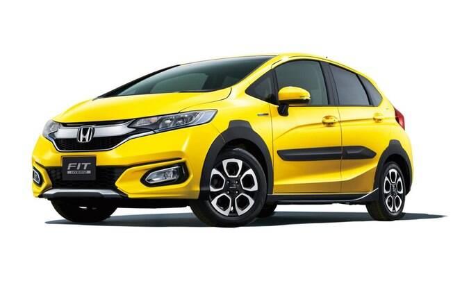 O Honda Fit Hybrid Cross Style será a opção