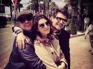 Fernanda Paes Leme curte Cannes