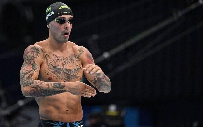 Bruno Fratus fica em terceiro e se garante na final dos 50m livre