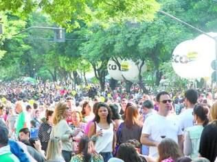 No ano passado, festa levou milhares de pessoas à Getúlio Vargas
