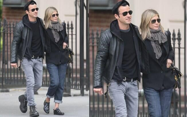 Jennifer Aniston e Justin Theroux estariam atrapalhando a vizinhança