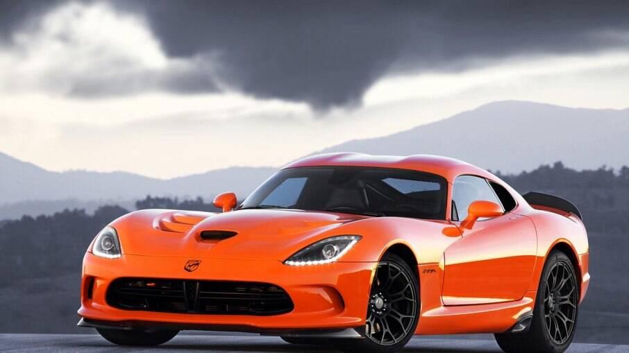 SRT é a marca de esportivos da Dodge; SRT Viper, que já deixou de ser fabricado