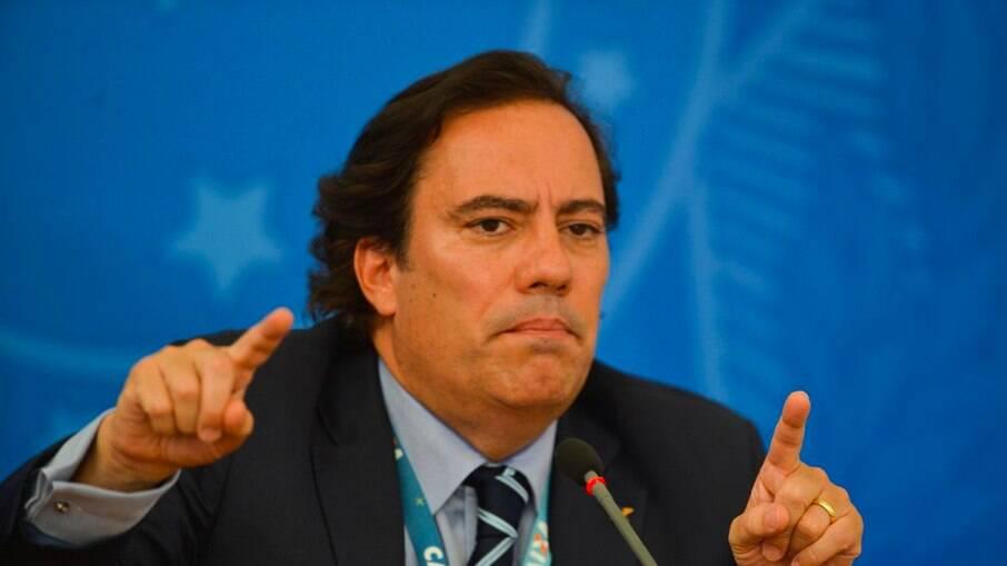 Pedro Guimarães presidente da Caixa Econômica Federal