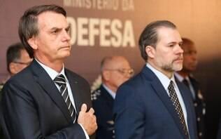 Bolsonaro se reúne com Toffoli em semana de processos polêmicos na pauta do STF