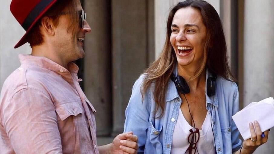 Susana Garcia fala sobre melhora de Paulo Gustavo