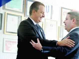 Aproximação. Eduardo Campos se encontrou com o ex-governador Antonio Anastasia, sinalizando a possibilidade de união do PSB e PSDB