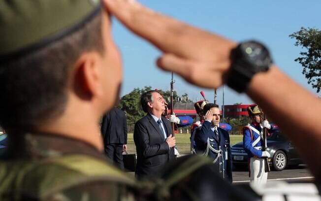 Presidente Jair Bolsonaro participou de evento para