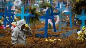 País contabiliza 390 mortes e 12.969 novos casos em 24h