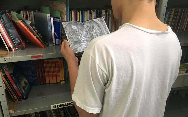 Na Fundação Casa, adolescentes usam estudos como forma de ocupar a cabeça e criam planos para o futuro