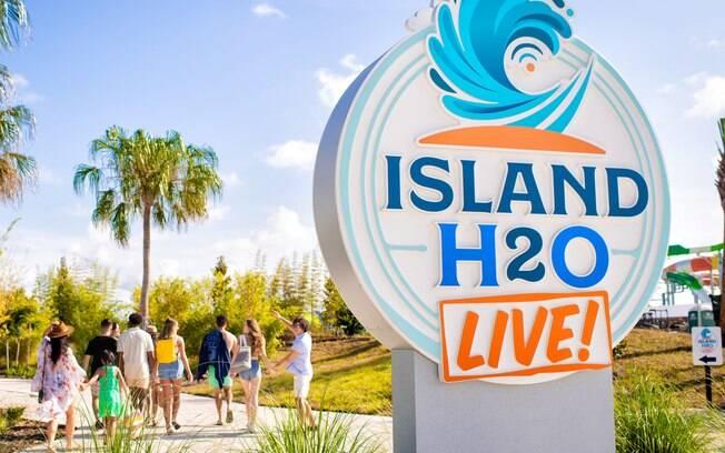 O parque aquático Island H2O Live! tem uma temática voltada para o mundo digital e promete uma experiência interativa