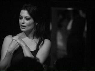 """A atriz italiana Anita Mosca de """"La Cena"""" reside há três anos em Belo Horizonte"""