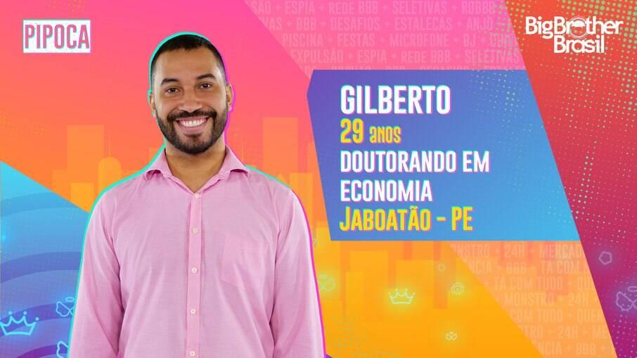Gilberto, economista de 29 anos é participante do novo BBB