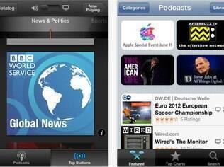 Novo aplicativo Podcasts ajuda a gerenciar conteúdo em áudio e vídeo por meio do iPhone e iPad