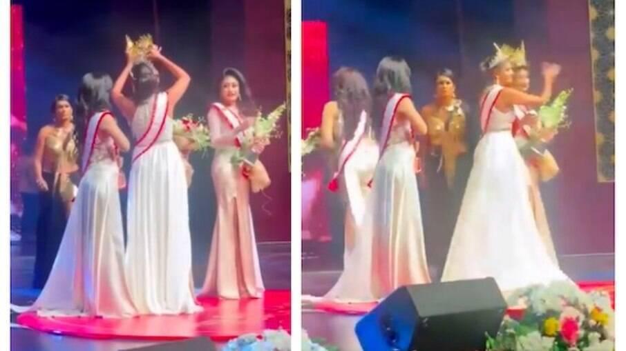 Cena do Miss Sri Lanka