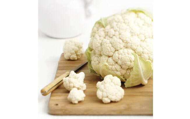 Couve-flor é rica em enxofre e pode causar a halitose. Foto: Thinkstock