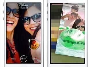 Slingshot permite enviar fotos e vídeos que são apagados depois de vistos. Grátis para iPhone e Android