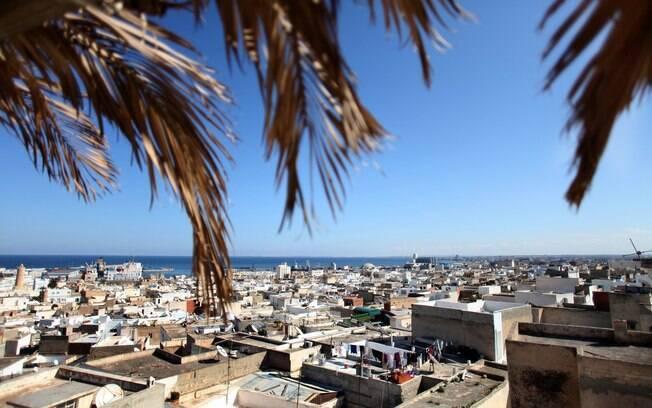 Em Sousse, principais atrações turísticas estavam às moscas