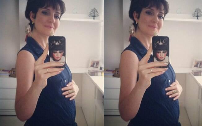 Larissa Maciel deu à luz Milena nesta quarta-feira (5)