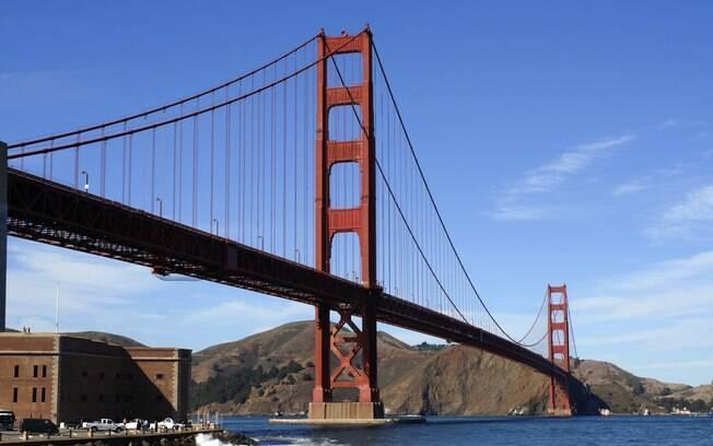 Ponte Golden Gate, símbolo de São Francisco