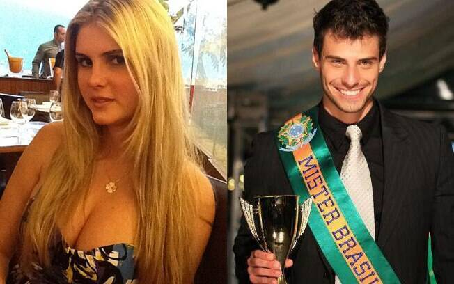 Bárbara Evans e Lucas Malvacini: fim de namoro