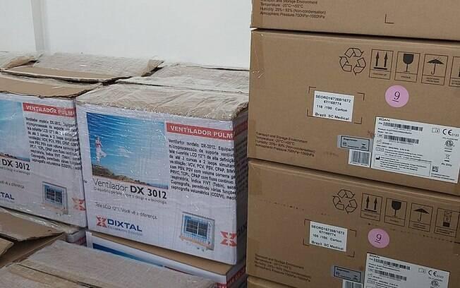 Compras de equipamentos médicos para combate à Covid-19 são investigadas em diversos estados. Em Mato Grosso, a polícia flagrou empresa que, em lugar de ventiladores