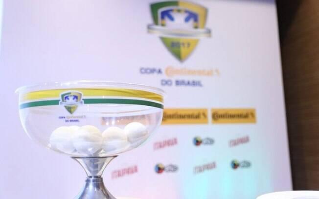 Sorteio da Copa do Brasil, na CBF