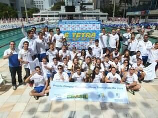 Esportes - Belo Horizonte - MG Nadadores do Minas sao campeoes do trofeu Jose Finkel  FOTO: FERNANDA CARVALHO / O TEMPO - 08.09.2014