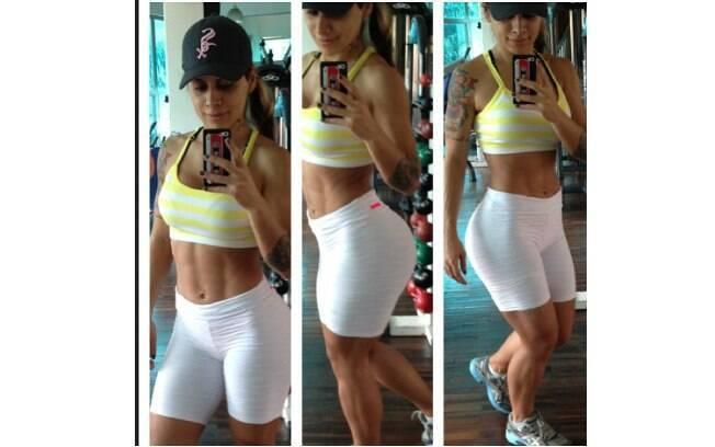 Vanessa Mesquita é fisiculturista